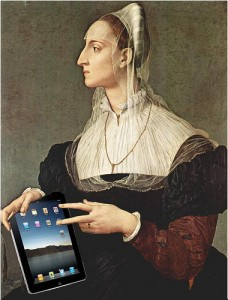 ipad-art woman