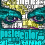 ipad art ANDY WARHOL DIY & WORDFOTO