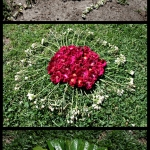 After Andy Goldsworthy Triptych