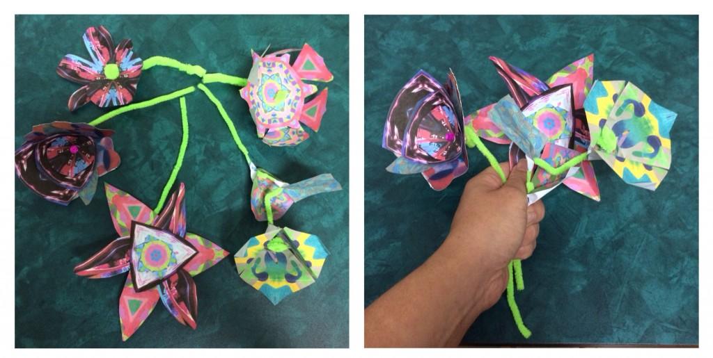 IPad Art Flowers