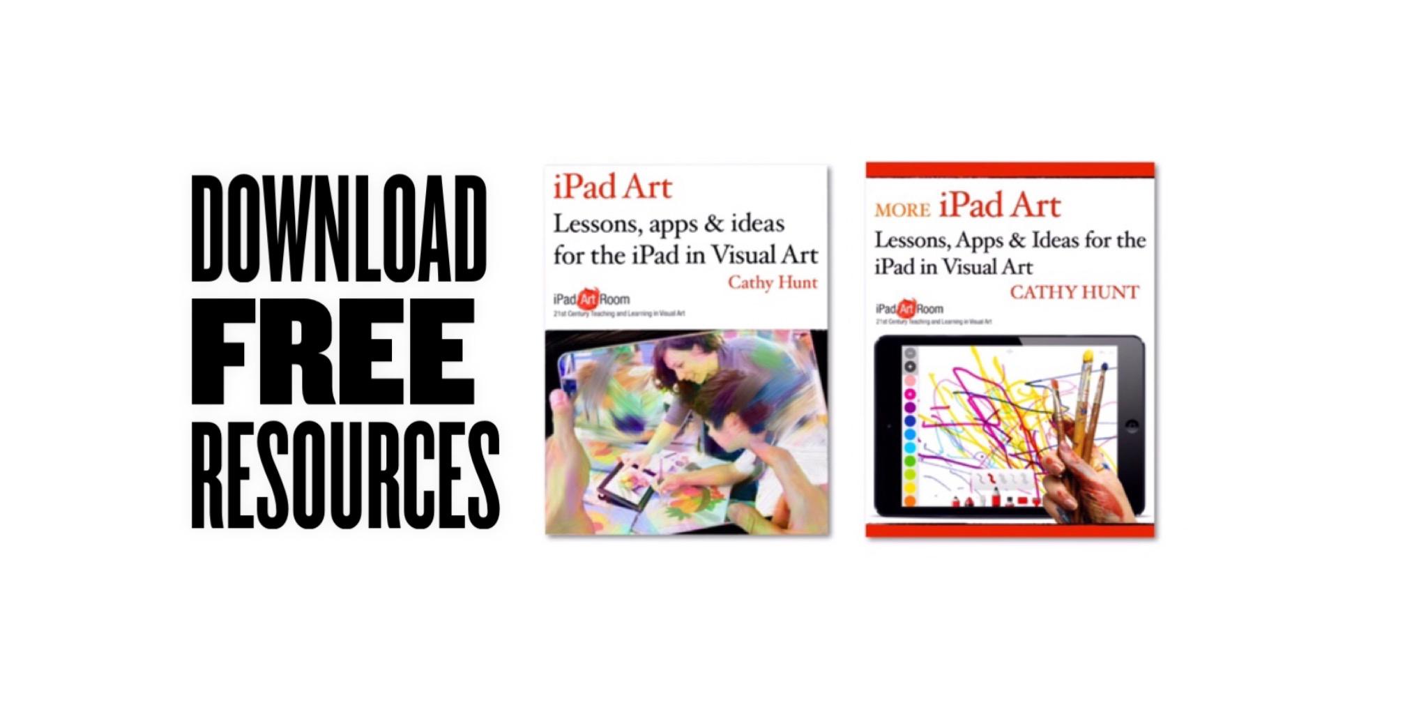 Download the FREE set of iPad Art Room Books