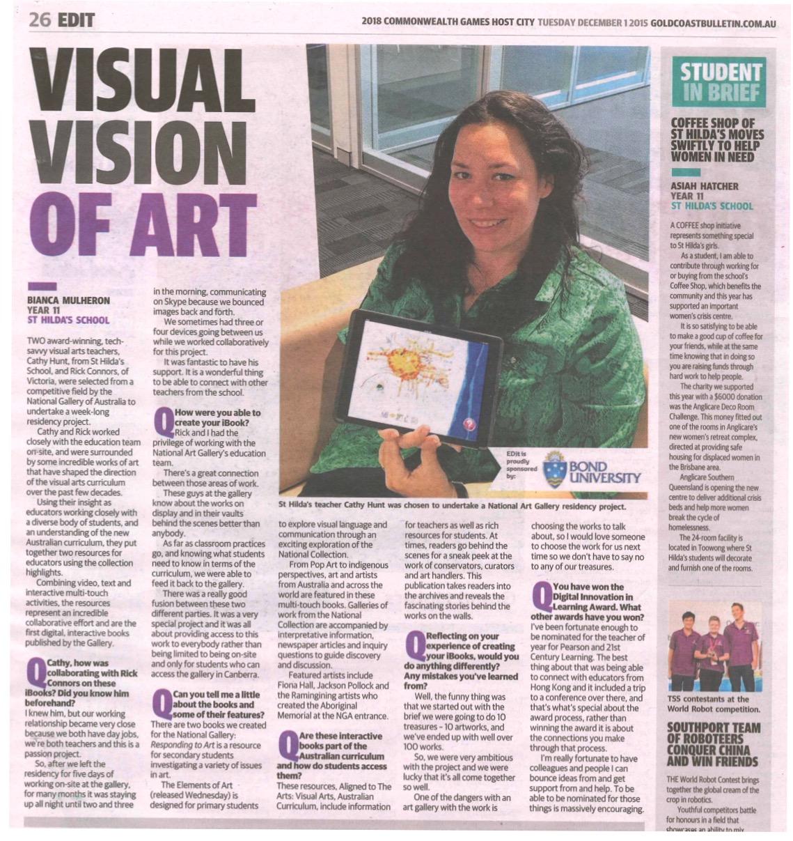 Visual Vision of Art