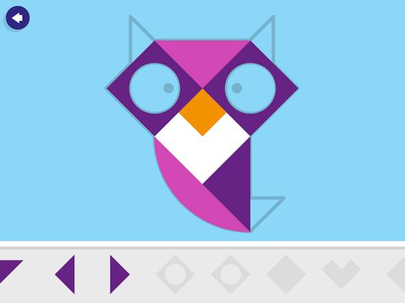 tangram app ipad art