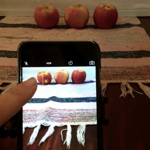 manual focus iPad