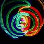 iPad light painting  art