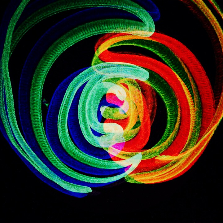 iPad light painting  art