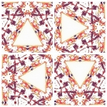 Image created by repeating and rotating in Pic Jointer