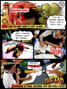 ipad art COMIC LIFE