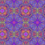 Tessellation created in Amaziograph, manipulated in ColorSplash