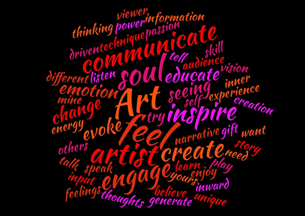 What art means to me...