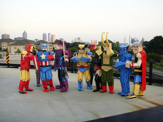 Avengers boxed