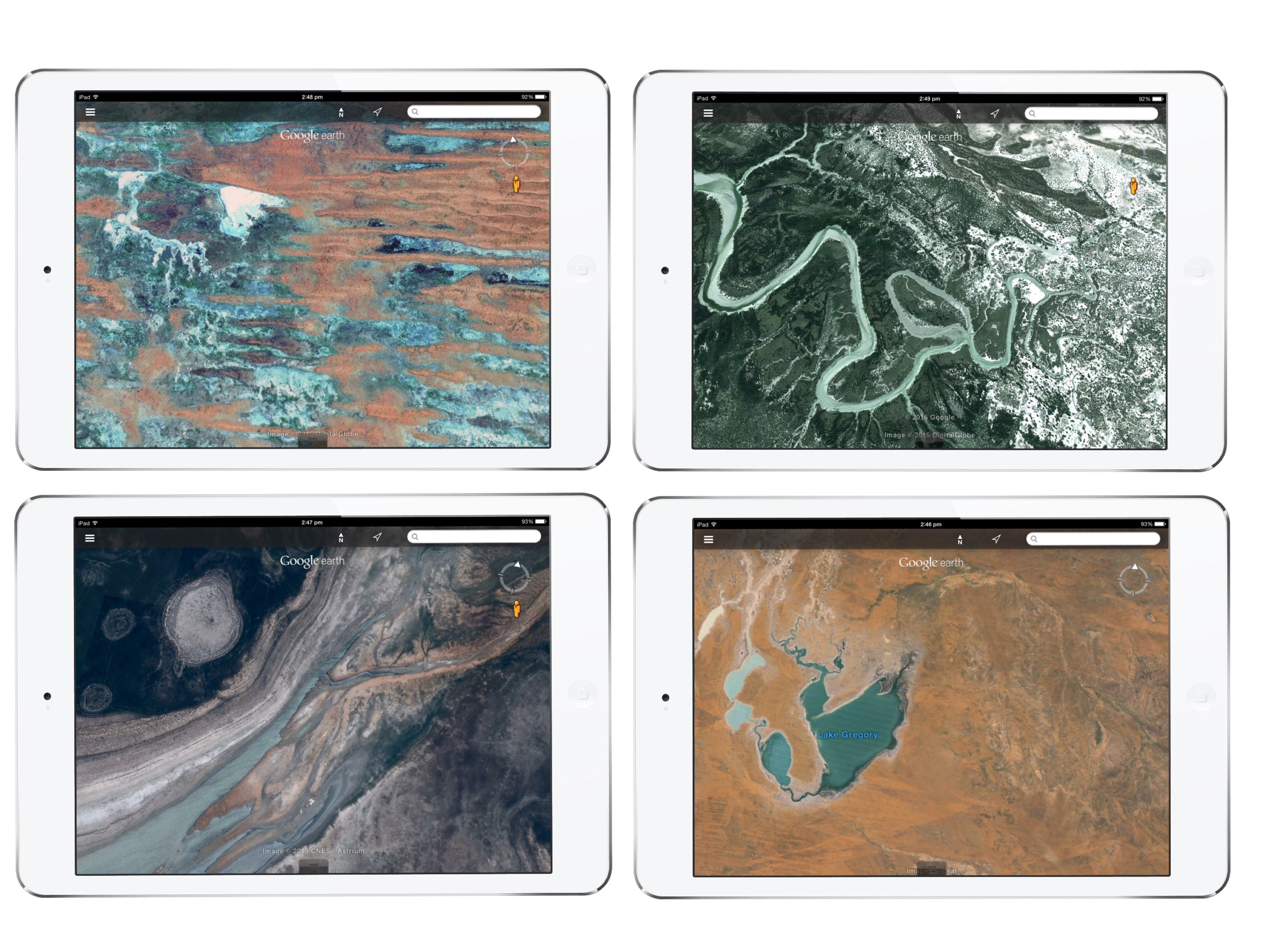 Google earth art ipad